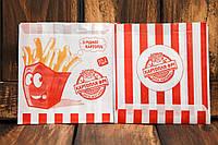 Упаковка для картофеля фри средняя 1786