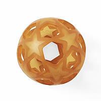 Прорезыватель для зубов из натурального каучука Hevea Star Ball Natural  7443151