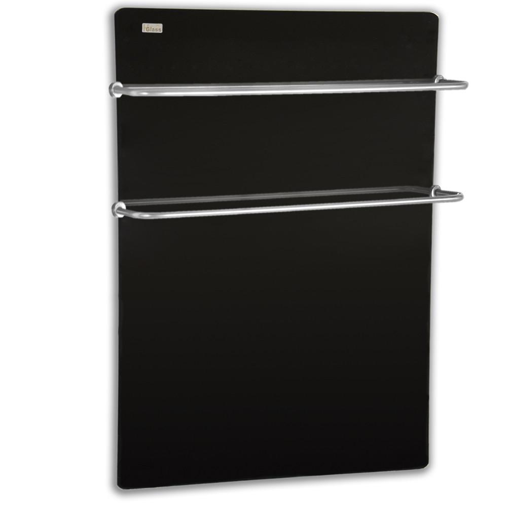 Полотенцесушитель стеклокерамический HGlass Basic 5070 B (черный)