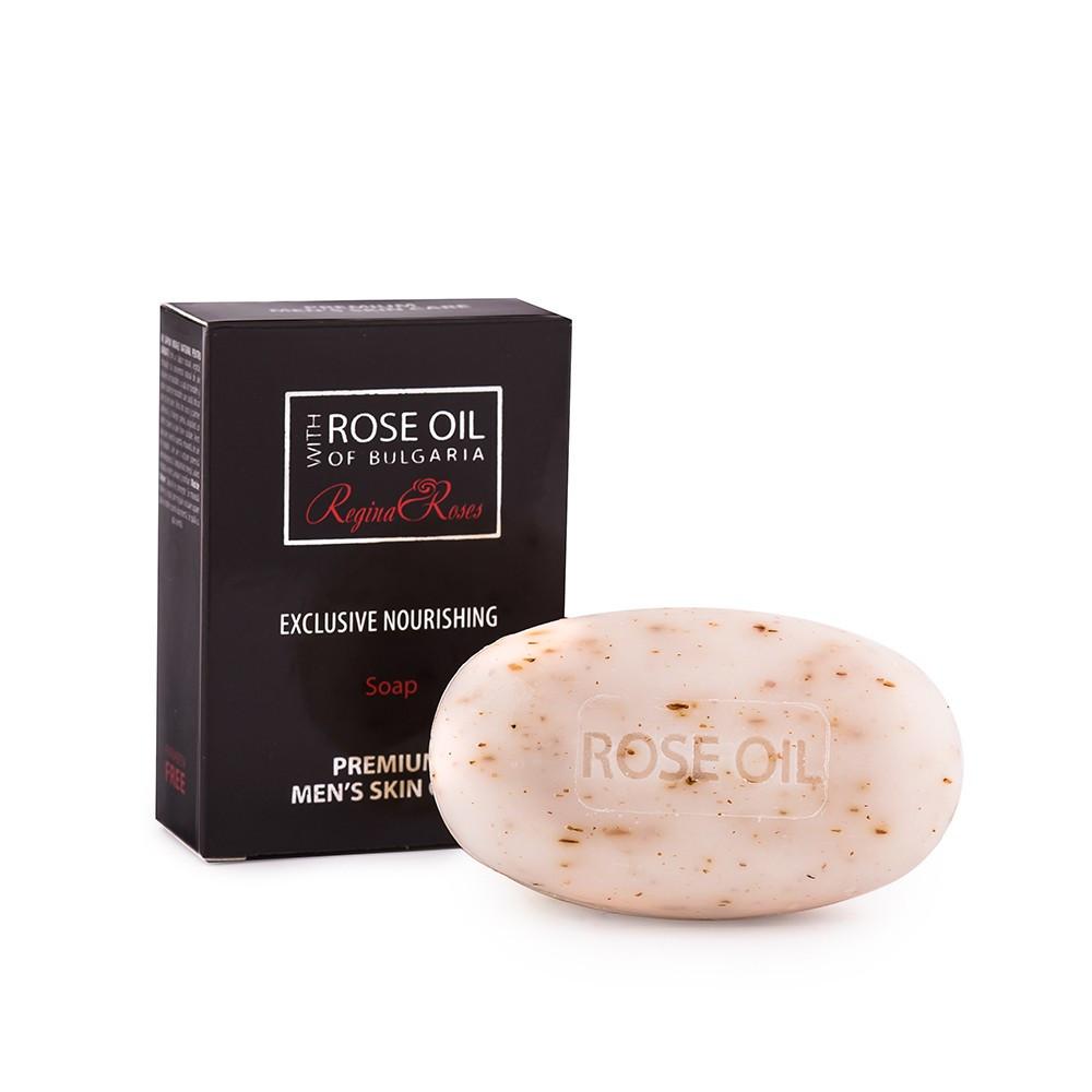Мужское смягчающее мыло с маслом розы 100 гр
