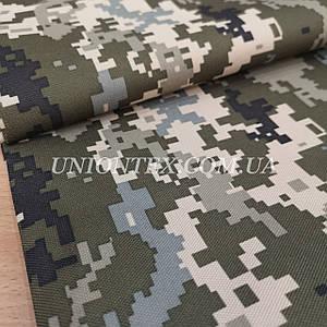 Ткань оксфорд 600 PU (ПУ) принт камуфляж MN-14