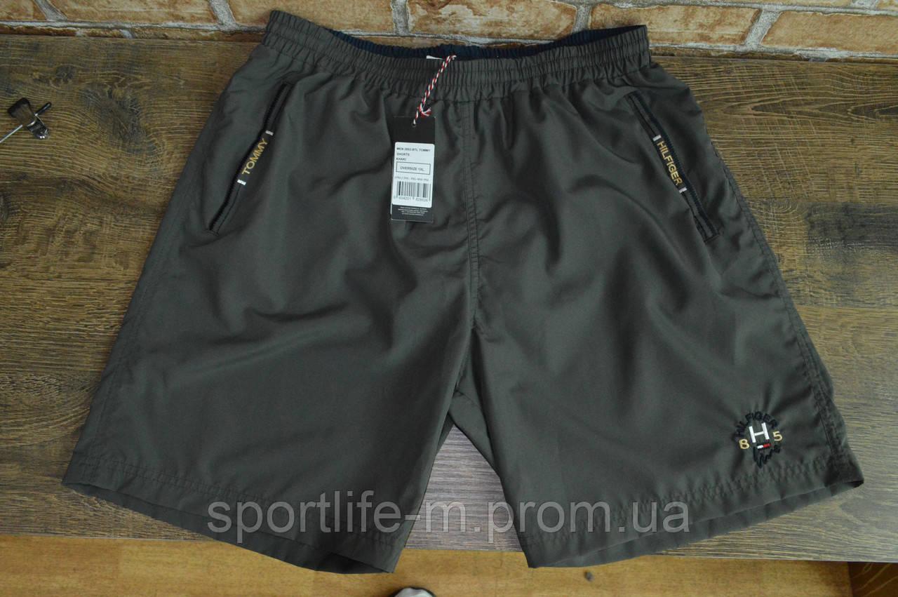 5034-Шорты мужские пляжные Tommy Hilfiger/Батал