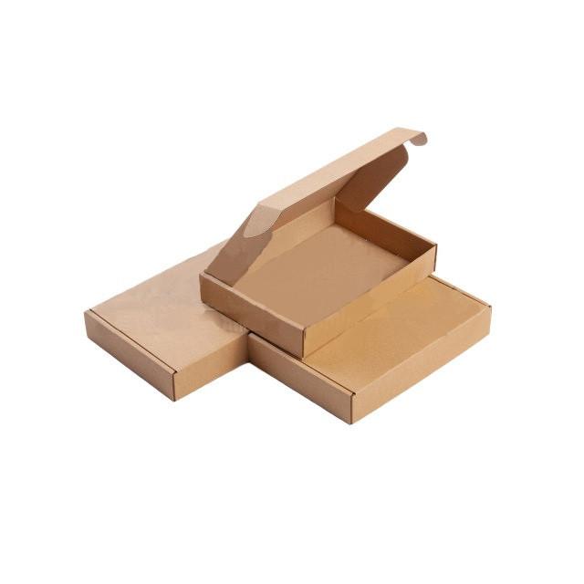 Картонная упаковка 200*62*40  мм. бурые