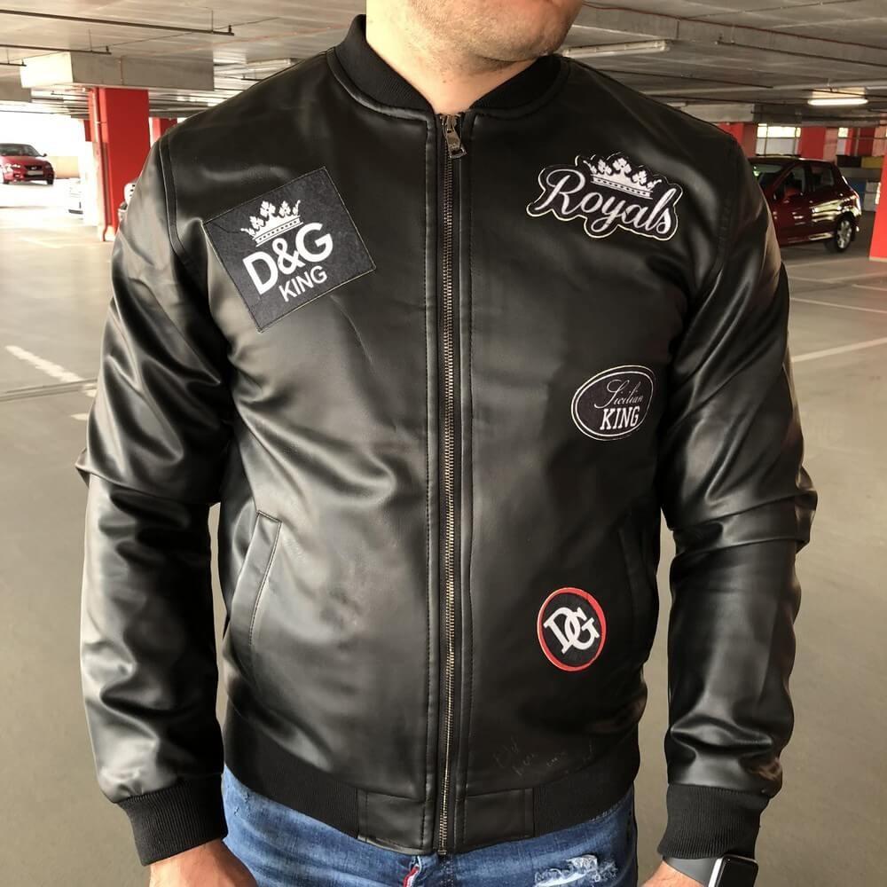 Dolce & Gabbana Royal King Jacket Black