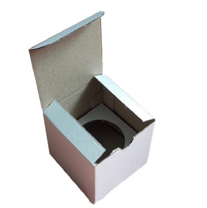 Коробка для капкейков, кексов и маффинов 1 шт 85х85х85