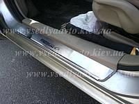 Защита порогов - накладки на пороги Mazda 6 I с 2003-2008 гг. (Premium)