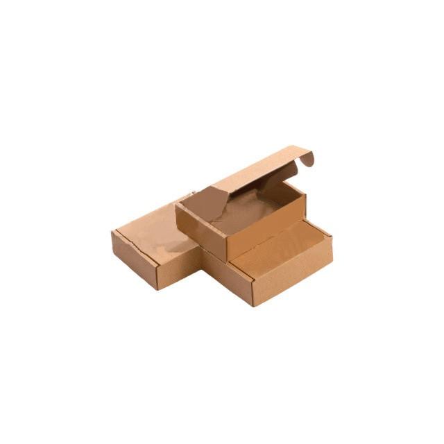 Картонная упаковка 215х145х40 мм. бурые