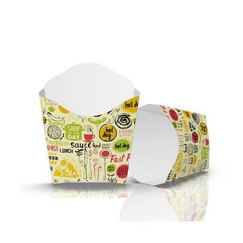 """Упаковка для картофеля фри """"Мини"""" Светлая, фото 2"""