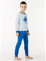 Пижама длч мальчика Smil(Смил) Украина голубая 104457