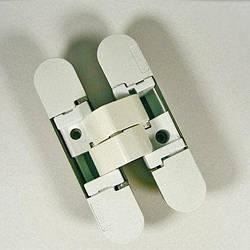 Петляскрытая Hafele K1000 3D БЕЛЫЙ МАТОВЫЙ