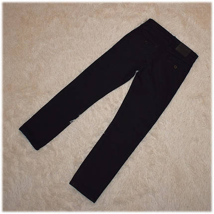 Брюки школьные для мальчика черные с начесом размер  140 146 152, фото 2