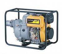 Мотопомпа бензиновая Kipor KGP40T (6.8 л.с., 1250 л/мин)