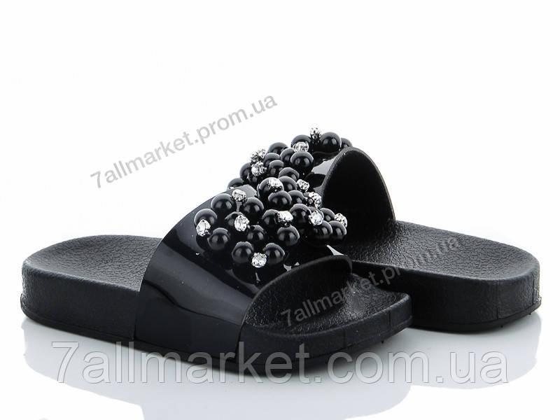 f204064401c9 Шлепки детские летние Лето 1768-1B black (6 пар р.24-29)