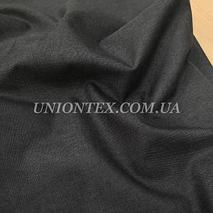 Ткань оксфорд 600 PU (ПУ) меланж темно-серый