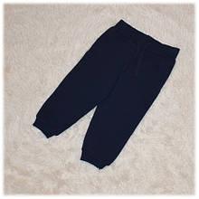Штаны спортивные на мальчика синего цвета Турция размер 80 86