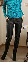 Классические черные женские брюки осень-зима