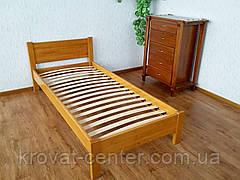 """Кровать детская с изножьем из натурального дерева """"Эконом"""", фото 3"""