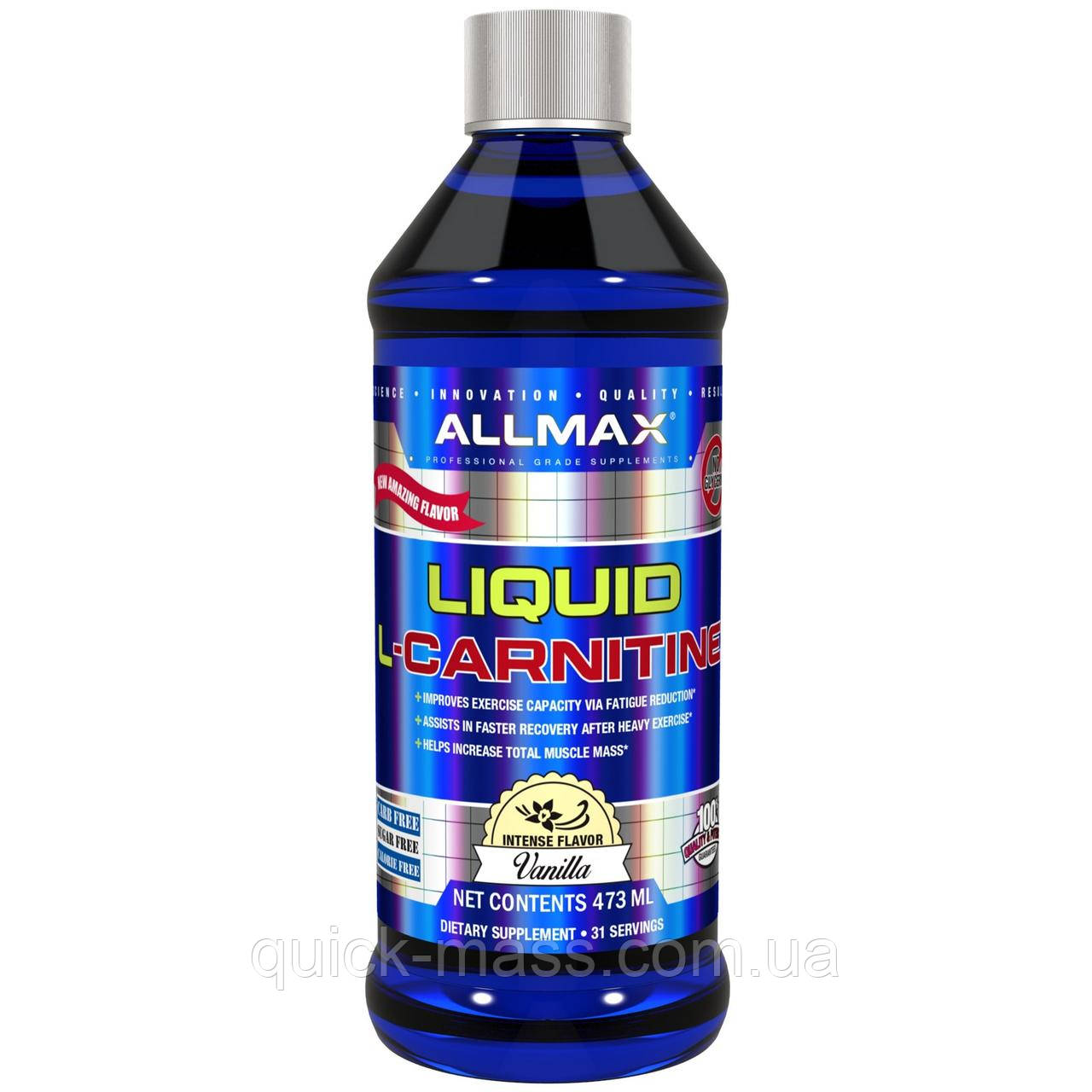 Жироспалювач AllMax Nutrition L-Carnitine Liquid 473ml