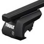 Багажник для авто c рейлингами Thule Evo SquareBar черный 7104-712X