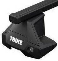 Багажник (комплект) Thule Evo SquareBar 7105 Черный для авто с гладкой крышей 7105-712X-KIT, фото 1