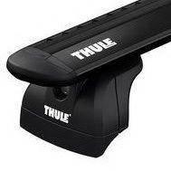 Багажник для авто c интегрированными рейлингами Thule Evo WingBar черный 753-711XXB-KIT