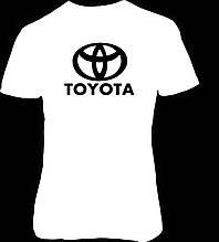 Наклейка на ткань Тойота (цена за размер 15 см)