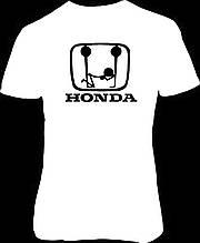 Наклейка на ткань Хонда 2(цена за размер 15 см)
