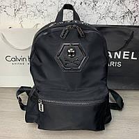 Backpack Philipp Plein Skull Black, фото 1