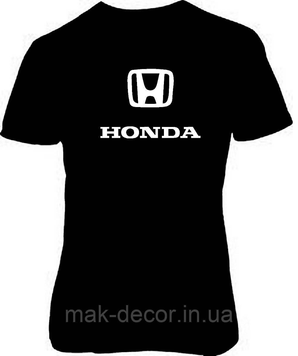 Наклейка на ткань Хонда (цена за размер 15 см)