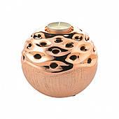 Подсвечник круглый керамика 12 см