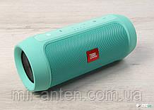 Портативна бездротова Bluetooth колонка JBL CHARGE 4 copy, зелена