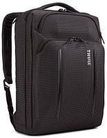 Сумка для ноутбука Thule Crossover 2 Convertible Laptop Bag  Black 3203841, фото 1