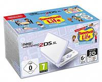Приставка (консоль) New Nintendo 2DS XL White & Levander + Tomodachi