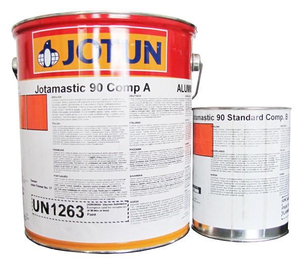Серія Jotamastic. Епоксидні, двокомпонентні покриття (грунт-емаль) мастичного типу