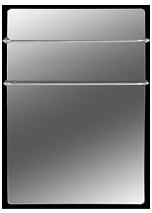 Конструкция и способ обогрева полотенцесушителя Hglass GHT 5070 Premium