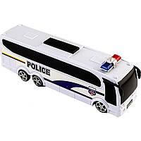 Автобус инерционный Полиция в коробке 25х7х5,5см 818-5
