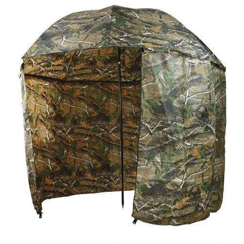 Зонт палатка для рыбалки SF23817 Дубок диаметр 2.2 м Хаки