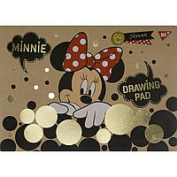 "Альбом для малюв. склейка 20/100 ""YES"" Minnie Gold крафт №130395(6)"