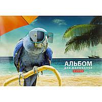 "Альбом для малюв. склейка 20/120 A4 ""Star"" №PB-GB-020-222/Школярик/(15)(105)"