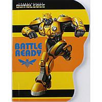 """Блокнот А6 карт. 60арк. кліт. """"Kite"""" Transformers вирубка,клей №TF19-223K(50)(100)"""
