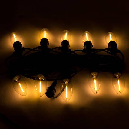 Светодиодная гирлянда 10 ламп с одной нитью (930028)