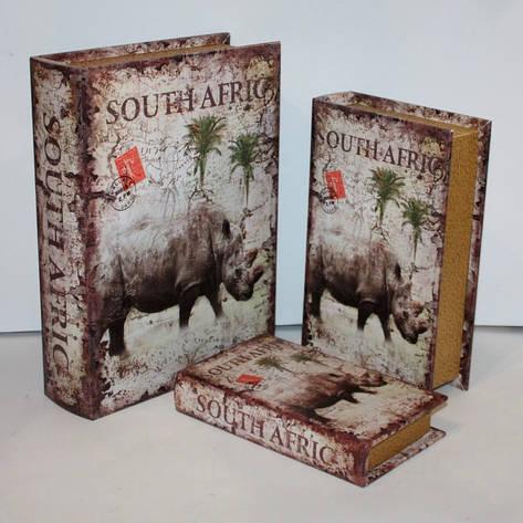 """Набор книг-шкатулок """"South Afric"""" 3шт, фото 2"""