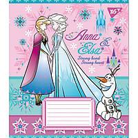 Зошит 12арк. лін. YES Frozen №763458(25)(250), фото 1