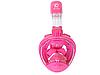 Дитяча маска для плавання Free Breath original, панорамна, підводний, для снорклінга. Розмір XS., фото 7