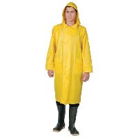 Плащ влагозащитный Cerva р.L ткань ПВХ желтый