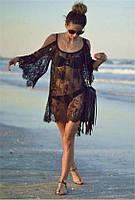 Пляжная накидка туника накидки на  купальник 44-48 размеры есть цвета