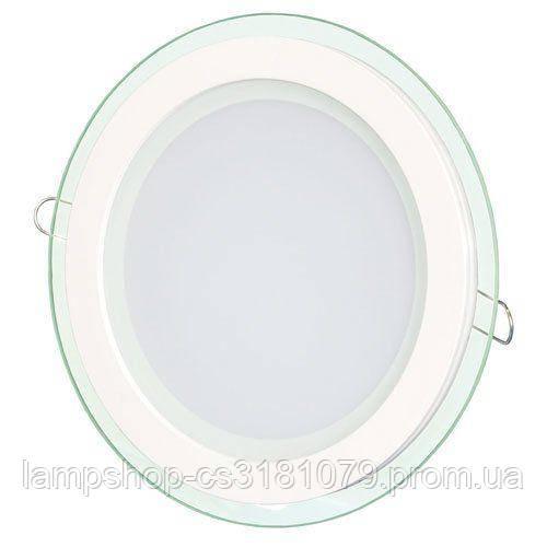 Светильник светодиодный OEM GL-R6 WW 6Вт круглый теплый белый