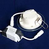 Светильник светодиодный OEM GL-R6 WW 6Вт круглый теплый белый, фото 3