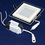 Світильник світлодіодний OEM GL-S6 WW 6Вт квадратний теплий білий, фото 3