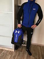 Спортивный костюм Under BLUE/BLACK